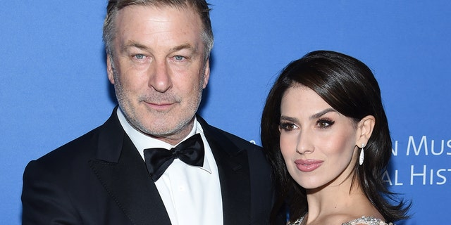 Alec Baldwin said his wife, Hilaria Baldwin, 'would divorce' him should he run for public office. (Photo by Jamie McCarthy/Getty Images)