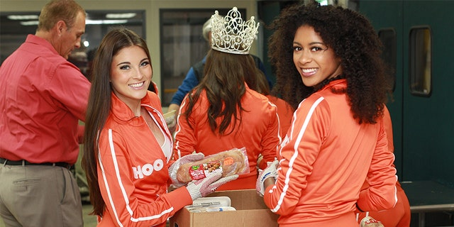 According to Hooters, more than 100,000 calendars have been distributed to troops worldwide since 2013.
