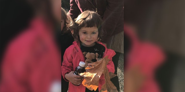 Two-year-old Iris Nix was okay after becoming lost in Oregon's Molalla River Recreation Area.