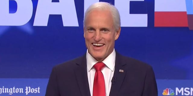 Woody Harrelson playing former Vice President Joe Biden on Saturday Night Live on Oct. 23.