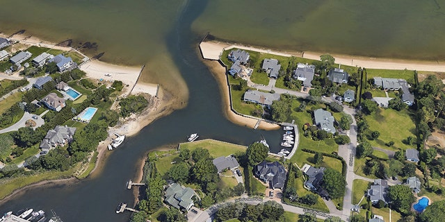 Southold Police said they were dispatched to a residence in Mattituck, N.Y., after a 39-foot powerboat collided with a bulkhead.