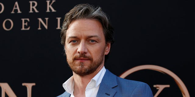 "Actor James McAvoy poses at the premiere for the film ""Dark Phoenix"" in Los Angeles, California, U.S., June 4, 2019."
