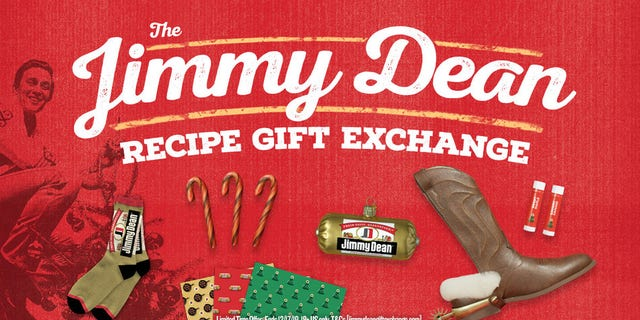 """Jimmy Dean is asking fans to share photos of their sausage-inclusive recipes at JimmyDeanGiftExchange.com, where they will be rewarded with their choice of several """"sausage-themed gifts"""" — while supplies last, of course."""