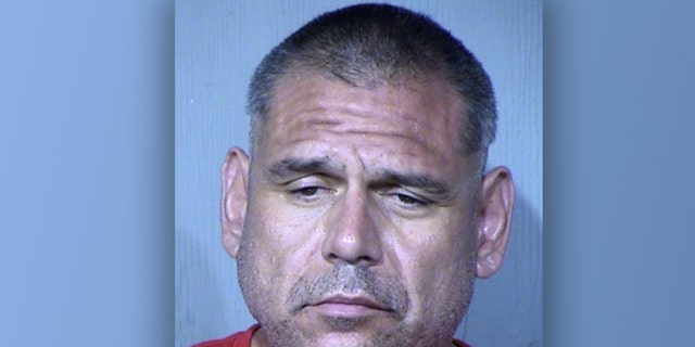 An image of Joe Ernest Meza, who reportedly attacked customers in an Arizona IHOP in September.