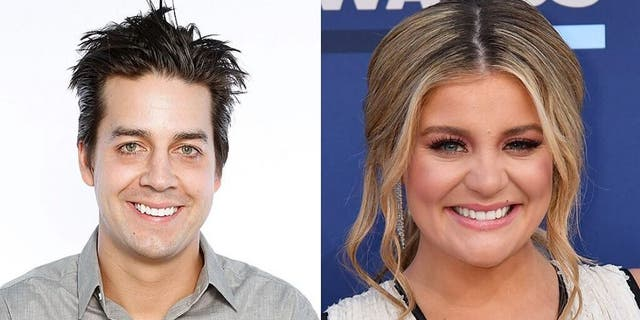 Crist, left, recently dated country singer Lauren Alaina, right. They broke up in September.