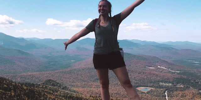 Katherine Vollmer, 20, died at Hasbrouck Park in New Paltz, N.Y., while hiking with friends on Monday night, officials said.