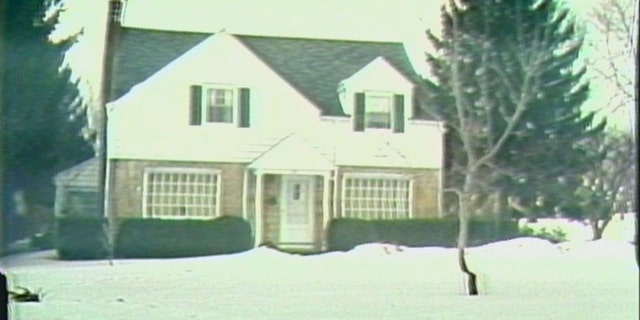 The house in Brighton, N.Y., where Cathleen Krauseneck, 29, was killed with an ax in 1982.