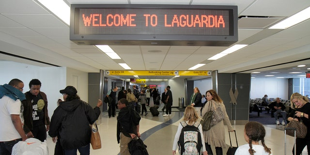 LaGuardiaAirport, which scored a 30 according to WSJ's calculations, actually came out ahead of JFK or Newark Liberty, even though all three ended up on the bottom of its lists.