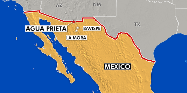 The first suspect was arrested in Agua Prieto, a small town right across the border from Douglas, Arizona.