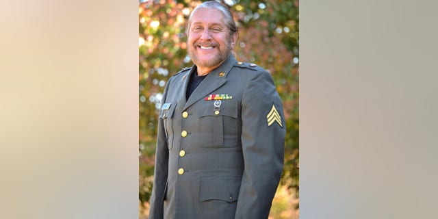 Marshall Tucker Band frontman and Army veteran Doug Gray proves he can still fit into his uniform he wore during combat in Vietnam.