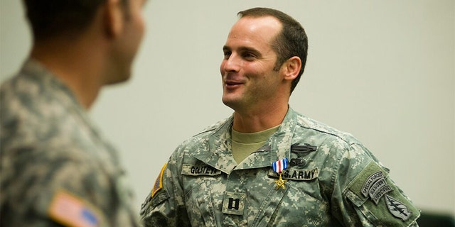 US News Maj. Mathew Golsteyn, a former Green Beret, was pardoned by President Trump last week for an alleged war crime. Golsteyn is now seeking to have the Army reinstate his Special Forces tab and his Silver Star for valor.