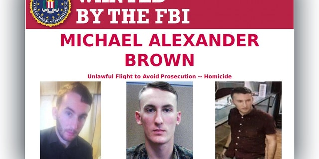 Westlake Legal Group Michael-Alexander-Brown Marine suspected in Virginia slaying added to FBI Most Wanted list Louis Casiano fox-news/us/crime fox-news/tech/topics/us-marines fox news fnc/us fnc cf972b43-d3bc-5b16-ad43-7869d687bc7f article