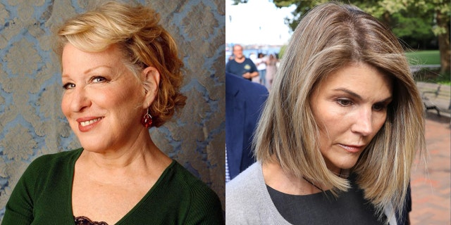 Bette Midler took to Twitter to suggest Lori Loughlin will get a light prison sentence in college admissions.