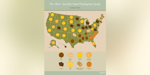 Hope you like pie, America, because that's what you're getting on Thanksgiving.