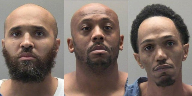 Cahke Cortner (left),Courtney Allen (center), and Lionel Combs III (right).