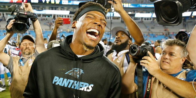 Cam Newton is a former league MVP and the long-time face of the Panthers franchise. But it's hard not to wonder if his future in Carolina is coming to an end following his recent spate of injuries. (AP Photo/Jason E. Miczek, File)