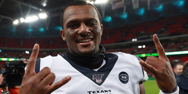 Quarterback Deshaun Watson is already one of the best players in Texans' history. (AP Photo/Ian Walton)