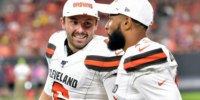 Baker Mayfield Gets Testy In Exchange With Reporter