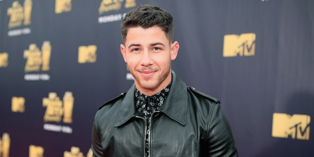 Nick Jonas attends the 2018 MTV Movie And TV Awards at Barker Hangar on June 16, 2018 in Santa Monica, Calif. (Photo by Christopher Polk/Getty Images for MTV)