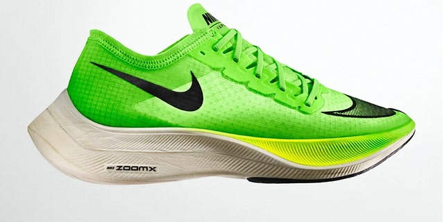 The Nike Vaporfly shoe has sparked debate over whether it gives runners an unfair competitive advantage