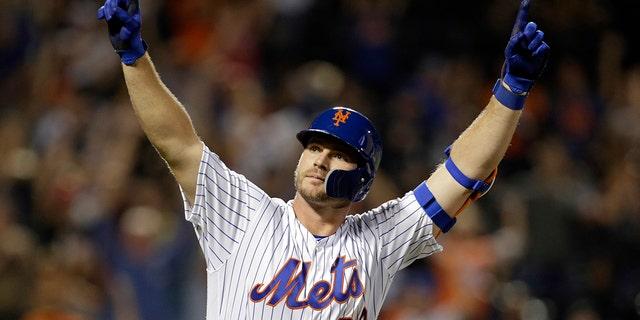 Mets' Pete Alonso defends Noah Syndergaard undergoing elbow surgery amid coronavirus pandemic