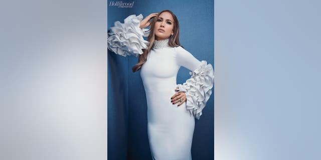 Jennifer Lopez is featured in the new issue of The Hollywood Reporter.