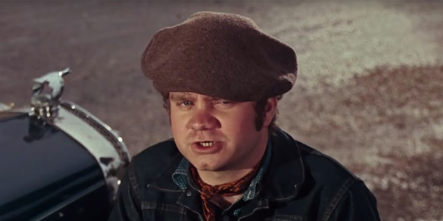 Michael J. Pollard in the 1967 movie 'Bonnie and Clyde.'