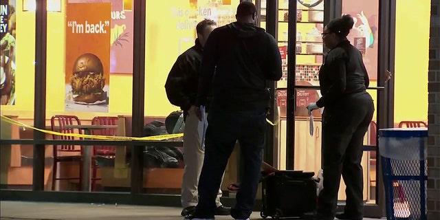 Investigators are investigating the scene in Oxon Hill on Monday night.