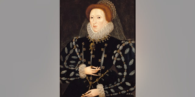 Painting of Queen Elizabeth I by Nicholas Hilliard, circa 1575. (Photo by Imagno/Getty Images)