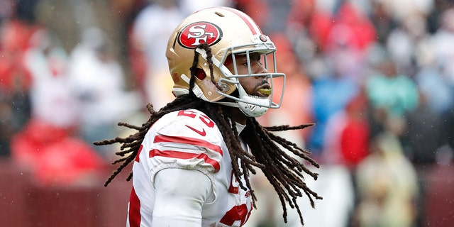 San Francisco 49ers cornerback Richard Sherman donated $5,000 to help a Southern California youth football team go to nationals. (Reuters)