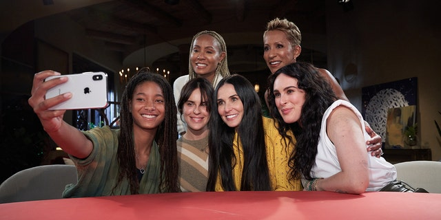 Demi Moore and her daughters appeared on Jada Pinkett-Smith's 'Red Table Talk.'