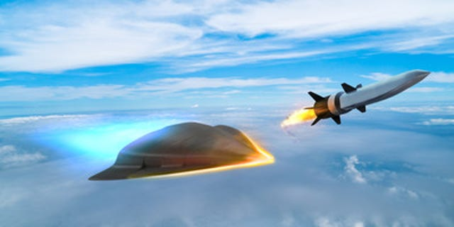 Artist's impression of hypersonic weapon technology.