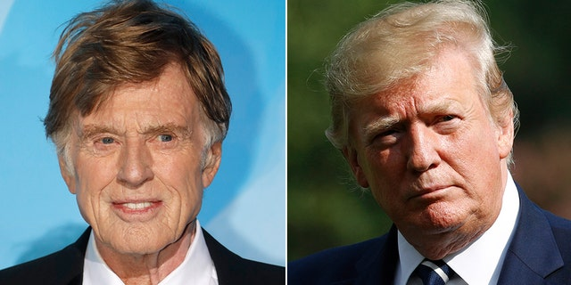 Robert Redford has previously sounded off on Trump in past op-ed pieces.