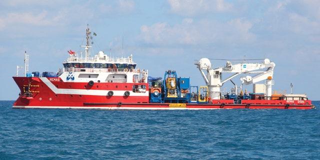 Two crew members aboard