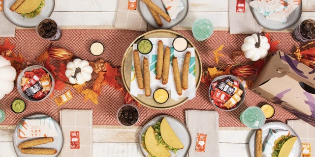 The party packs are available for $10.99 at participating locations. For a limited time the brand, which has teamed up with Grubhub is offering free delivery on orders of $12 or more starting Nov. 21.