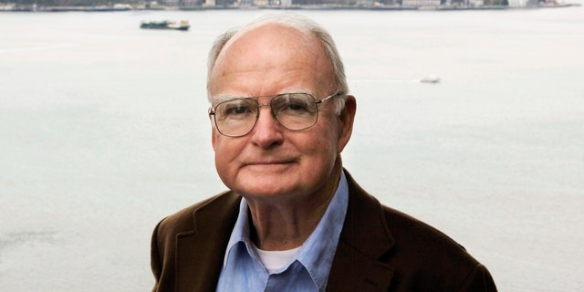 William Ruckelshaus, the first administrator of the EPA, poses for photos at his office in Seattle in 2009. (AP Photo/Ted S. Warren)