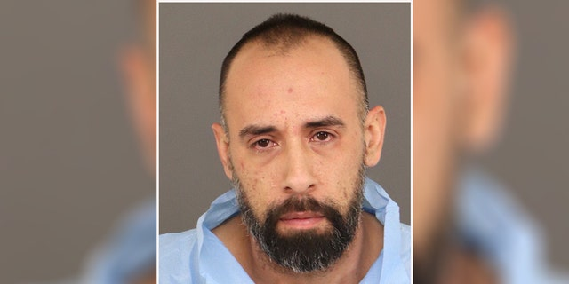 Russell Montoya Jr., 38, was charged with first-degree murder and tampering with physical evidence, according to the sheriff's office.