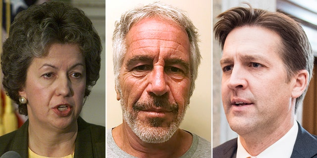 """Sen. Ben Sasse, right, told Bureau of PrisonsDirector Dr. Kathleen Hawk Sawyer to """"come prepared"""" to give significant answers in an upcoming hearing on the death of Jeffrey Epstein."""