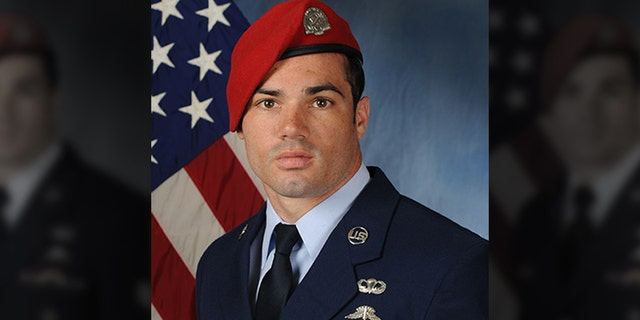 Air Force聽Staff Sgt. Cole Condiff fell out of a plane earlier this week into the Gulf of Mexico.聽