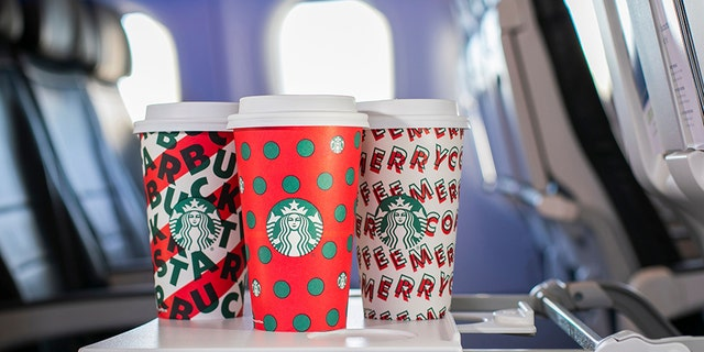 The carrier and coffee giant have teamed up for a limited-time promotion, allowing Alaska customers to receive priority boarding on flights between Nov. 7 and 10 if they hop on the aircraft with a Starbucks holiday cup in hand.