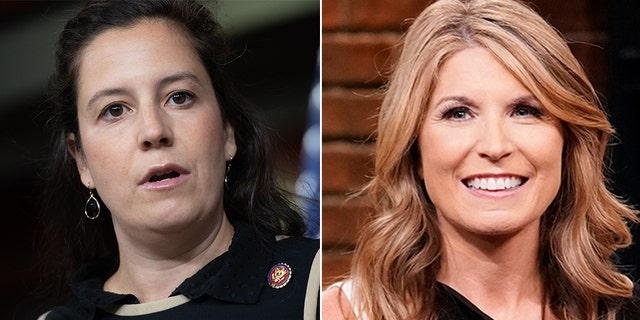 """New York Republican Rep. Elise Stefanik told anchor Nicolle Wallace to """"get outside of the MSNBC bubble"""" during a Twitter spat."""