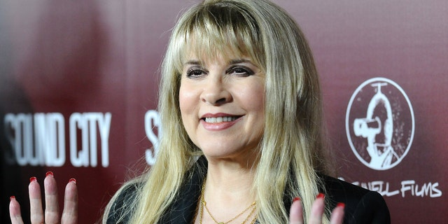 "Stevie Nicks attends the premiere of ""Sound City"" at ArcLight Cinemas Cinerama Dome"