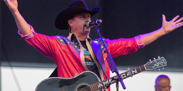 Singer John Rich of Big & Rich performs at Watershed Festival at Gorge Amphitheatre on August 4, 2018 in George, Washington.