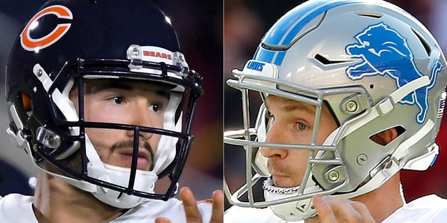 NFL Football Chicago Bears at Detroit Lions Betting Odds