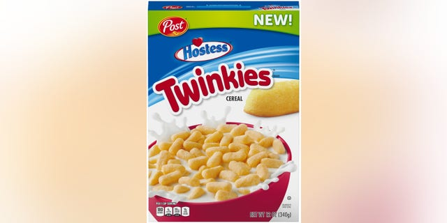 Post's announcement about Twinkies Cereal hitting Walmart shelves, sparked mixed reactions on social media. (Photo: Courtesy of Walmart)