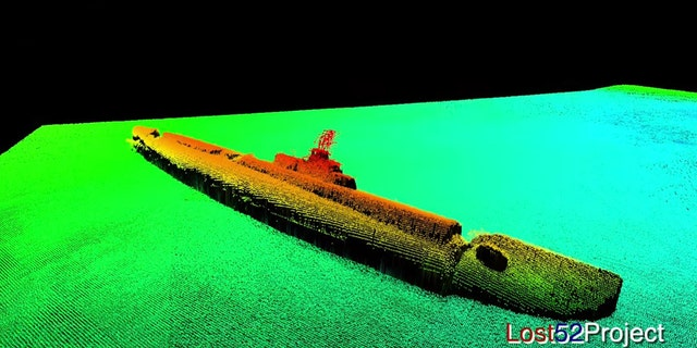 The USS Grayback sank with the loss of its 80-member crew. (Ocean Outreach / Lost 52 Project / YouTube)