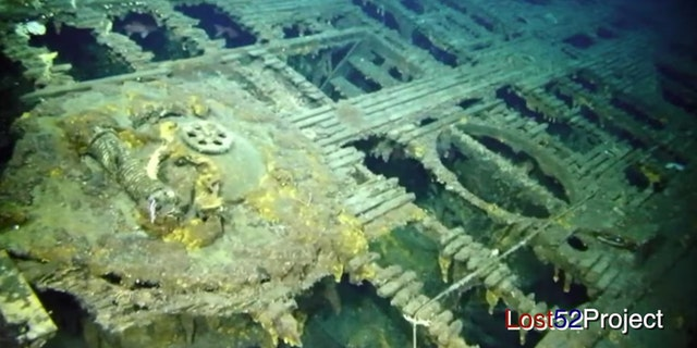 The wreck of the USS Grayback was found 50 nautical miles south of Okinawa. (Ocean Outreach/Lost 52 Project/YouTube)