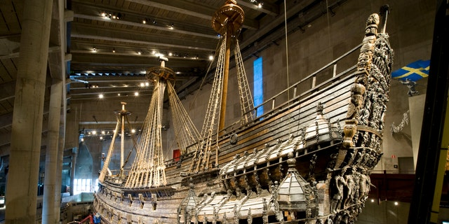 The Vasa is displayed at the Vasa Museum in Stockholm, on March 10, 2011 - file photo.