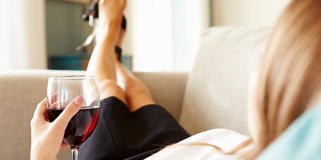 """Mommy blogger Constance Hall says that she drinks to cope with her children """"driving her crazy."""" (Photo: iStock)"""
