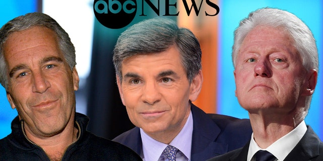 Word that ABC News spiked a story on Jeffrey Epstein, left, shined a spotlight on chief anchor George Stephanopoulos' ties to former President Clinton.